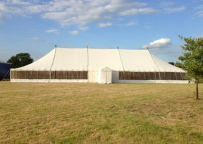 Large Traditional Marquee by County Marquees East Anglia