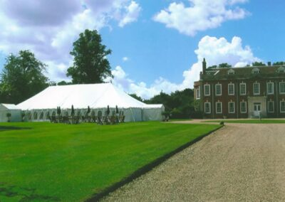 Large traditional marquee | County Marquees East Anglia