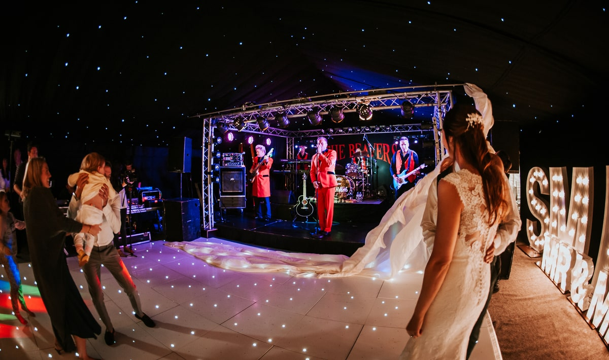 County Marquees East Anglia - Marquee Hire in Essex-clear-span-marquee-hire-bride-and-groom