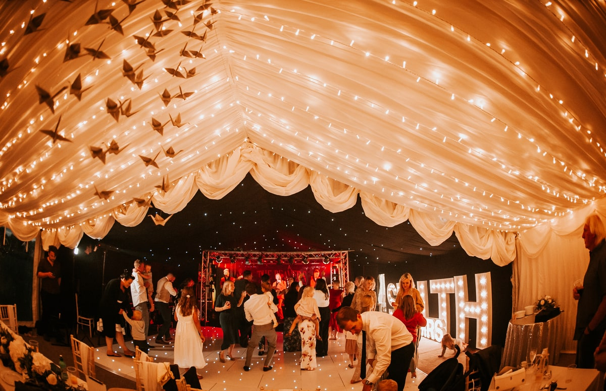 County Marquees East Anglia - Marquee Hire in Essex-clear-span-marquee-hire-dancefloor