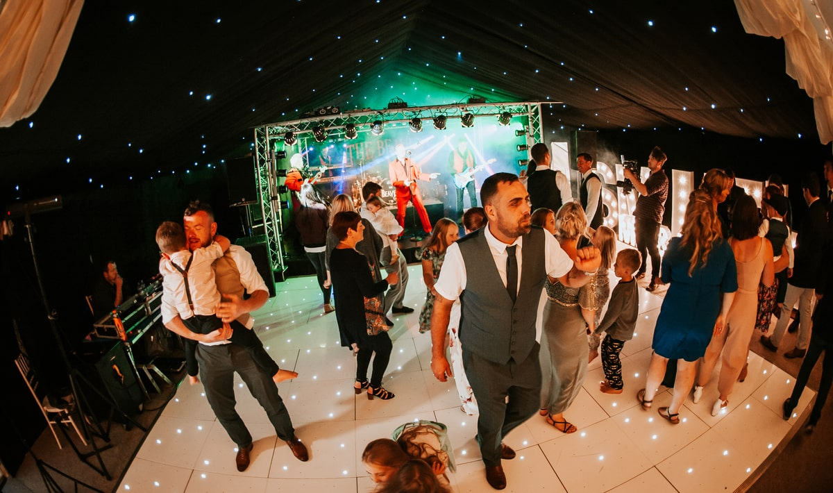County Marquees East Anglia - Marquee Hire in Essex-clear-span-marquee-hire-guests-dancing