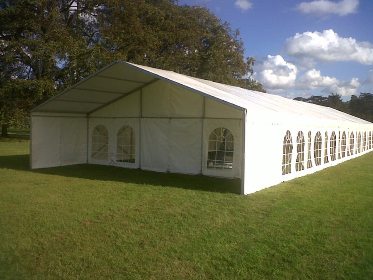 Large clear span marquee hire Essex | County Marquees East Anglia