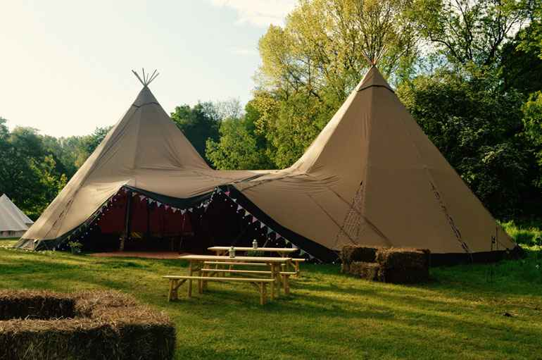 Wedding tipi hire Essex, Suffolk & Norfolk | County Marquees East Anglia