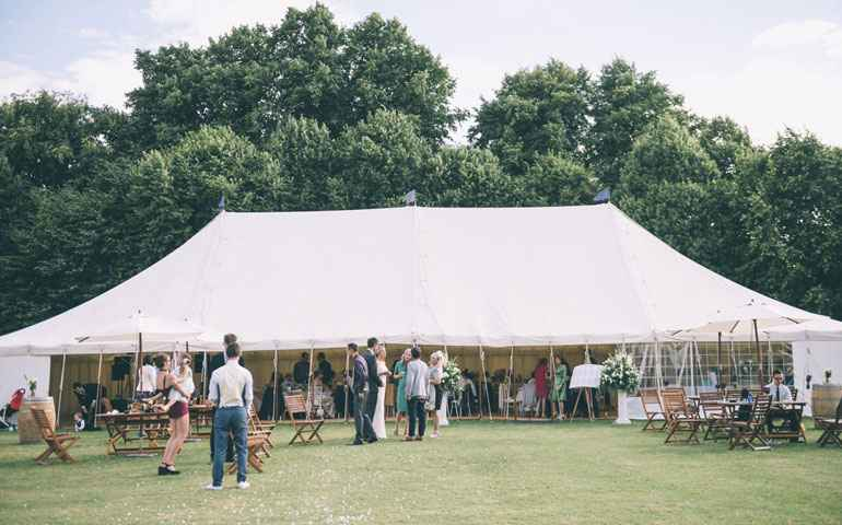 wedding marquee in essex
