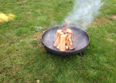 Outside firepit Essex, Suffolk and Norfolk | County Marquees East Anglia