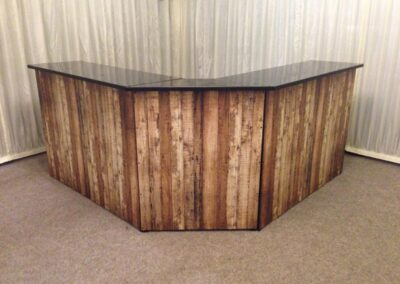 Wood Wrap Bar Hire Essex, Suffolk and Norfolk | County Marquees East Anglia