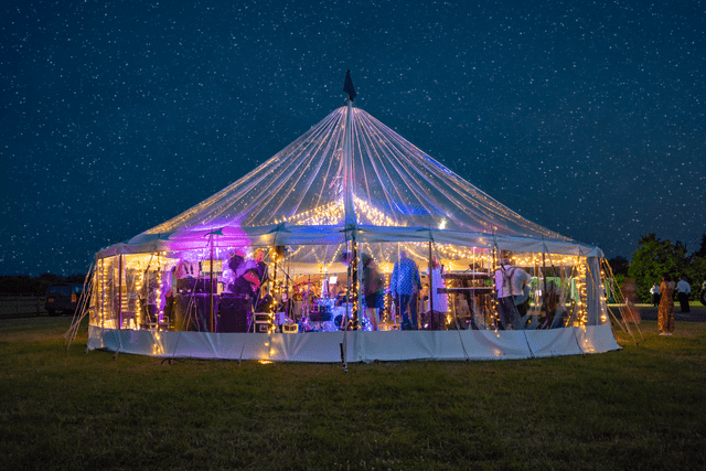 Wedding Marquee Hire | Transparent Marquee Hire