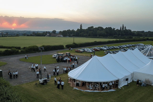 Marquee Hire Essex | Sail Cloth Marquee Hire Essex | County Marquees East Anglia