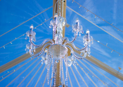 Chandelier hire by County Marquees East Anglia