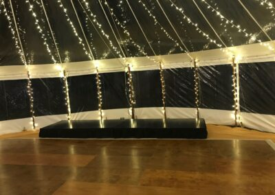 Dance floor and stage hire by County Marquees East Anglia