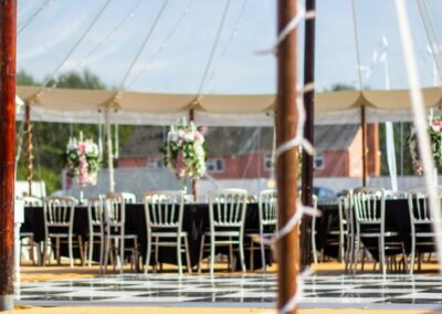 Marquee Furniture Hire by County Marquees East Anglia