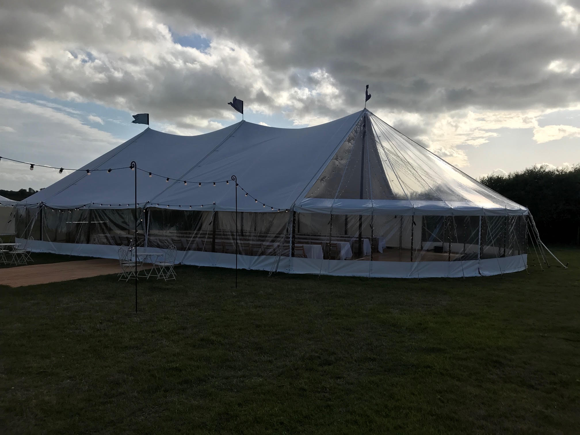 Sail Cloth Marquee