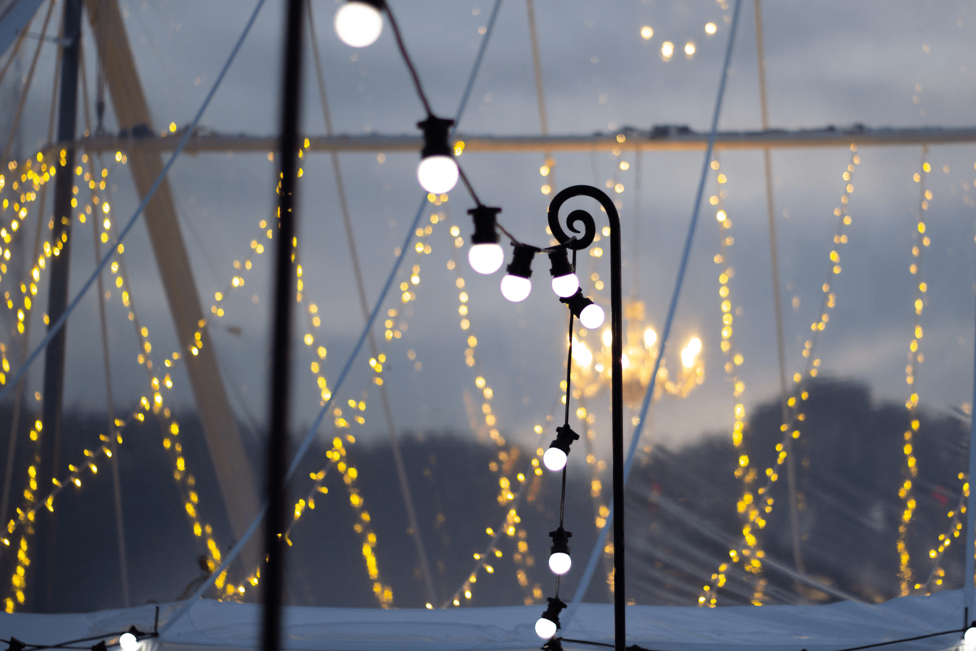 Festoon Lighting Hire | Fairy Lights